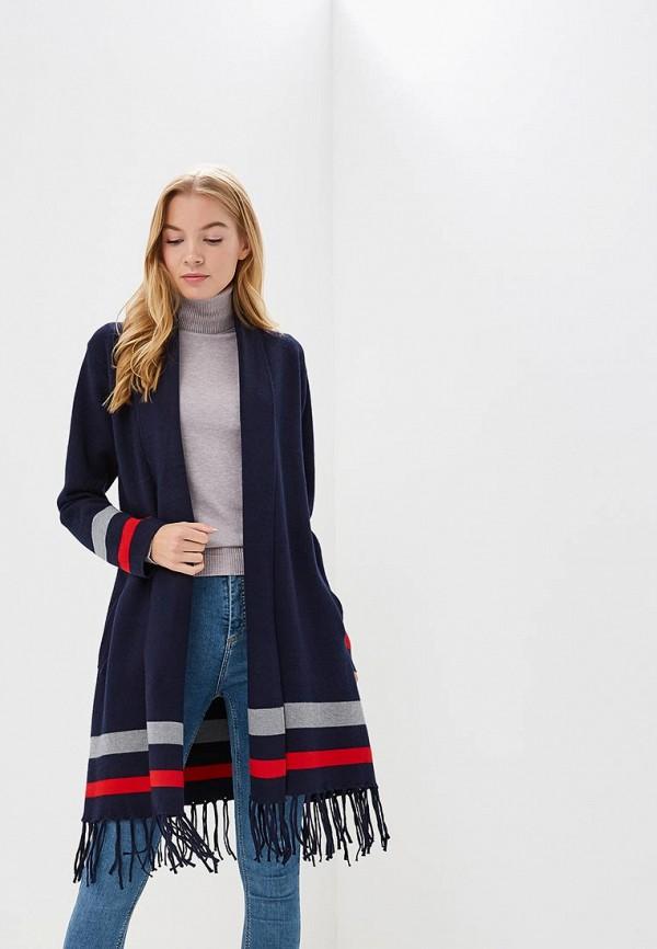 Купить Кардиган Fresh Cotton, FR043EWCFAD3, синий, Осень-зима 2018/2019