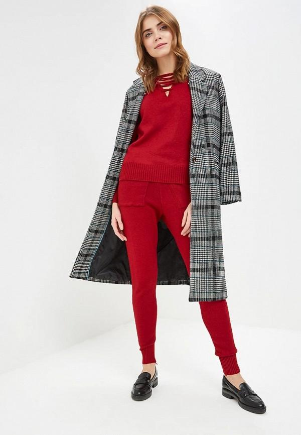 женский костюм fresh cotton, бордовый
