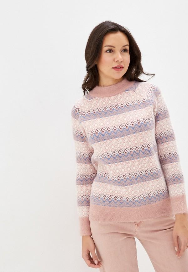 женский джемпер fresh cotton, розовый