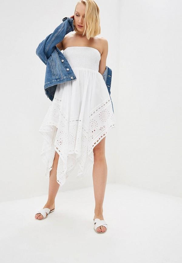 Купить Платье Fresh Cotton, fr043ewefmy2, белый, Весна-лето 2019