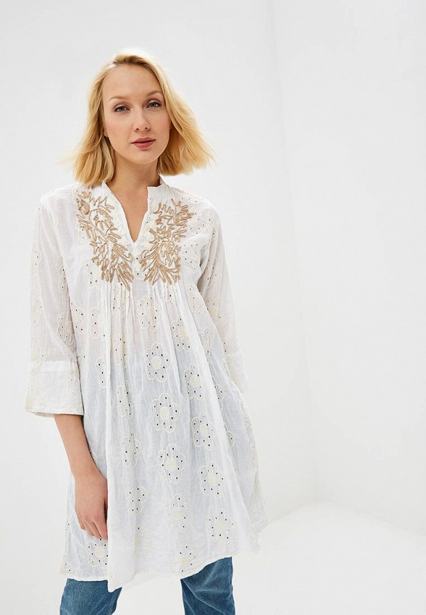 Туника Fresh Cotton Fresh Cotton FR043EWEFMY8 fresh style back criss cross one piece floral swimwear for women