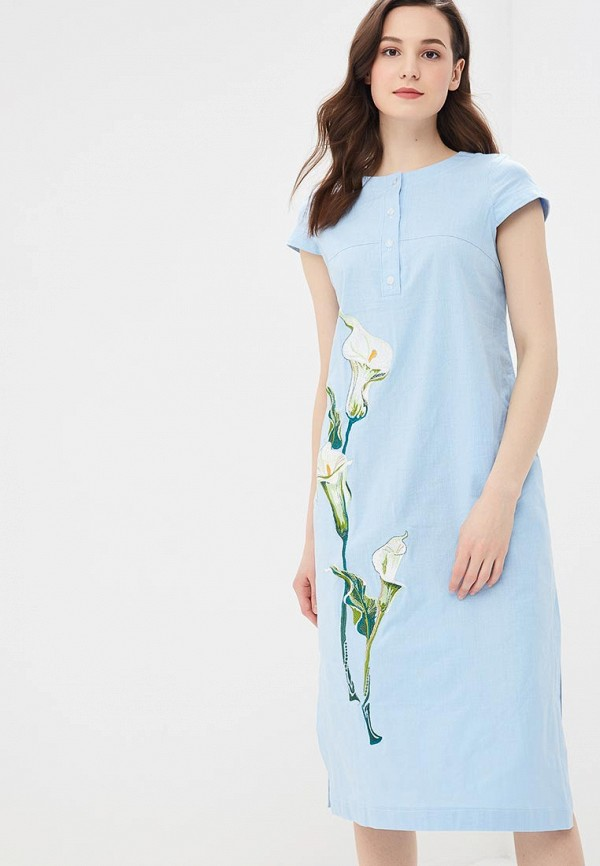 цена Платье Fresh Cotton Fresh Cotton FR043EWEFRP0 онлайн в 2017 году