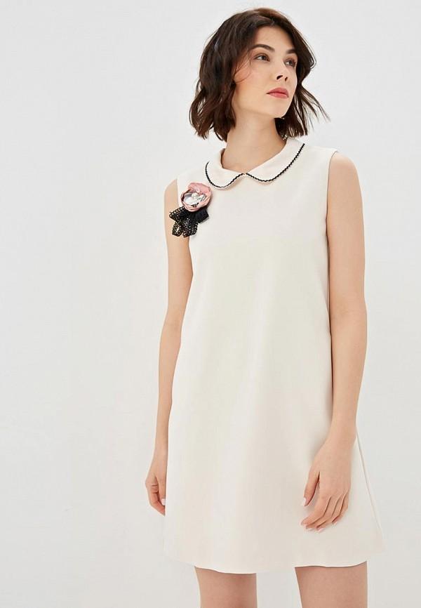женское повседневные платье fresh cotton, белое