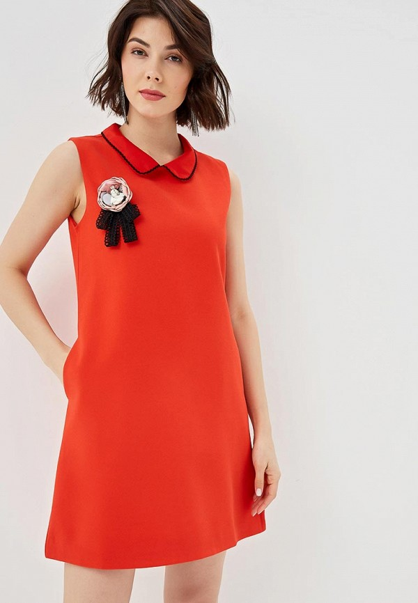 Платье Fresh Cotton Fresh Cotton FR043EWEWZE7 fresh style back criss cross one piece floral swimwear for women