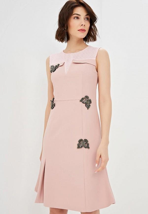 женское повседневные платье fresh cotton, розовое