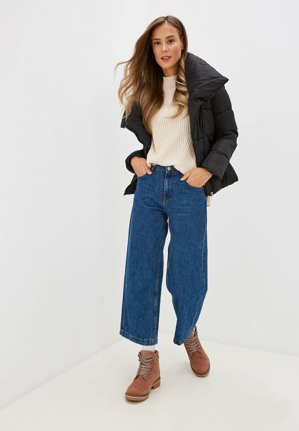 Фото 2 - Куртку утепленная Fresh Cotton черного цвета