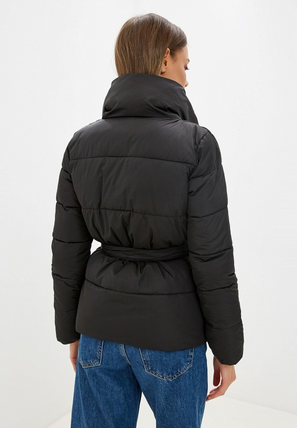 Фото 3 - Куртку утепленная Fresh Cotton черного цвета