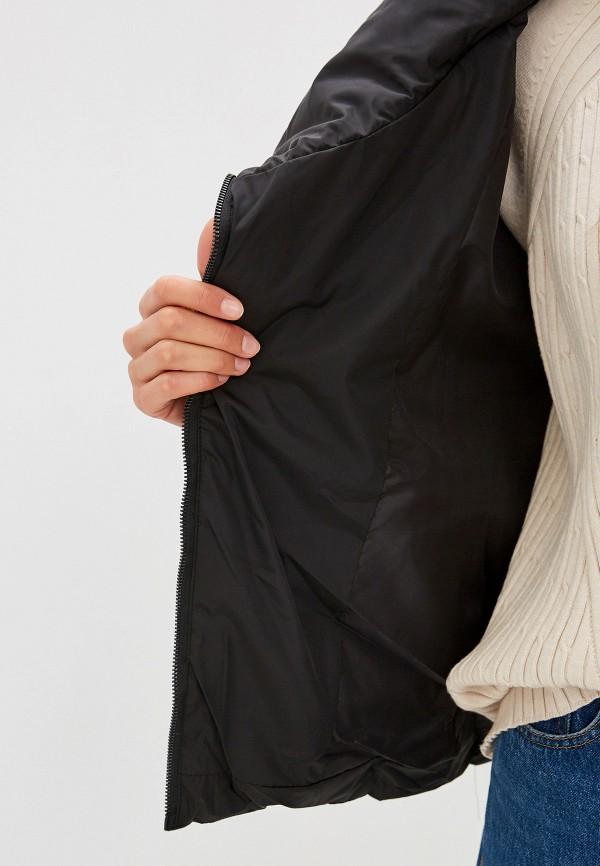 Фото 4 - Куртку утепленная Fresh Cotton черного цвета