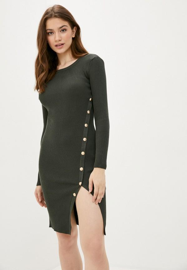 женское платье fresh cotton, хаки