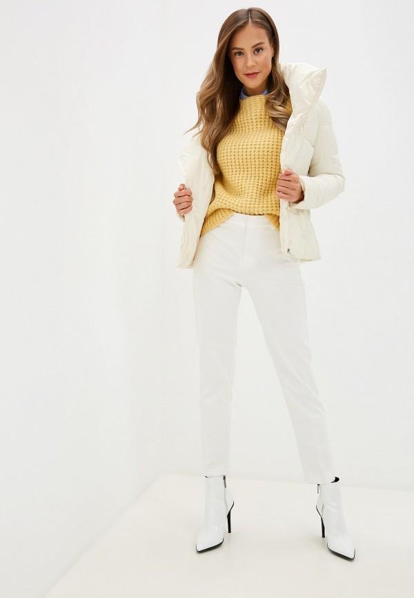 Фото 2 - Куртку утепленная Fresh Cotton белого цвета