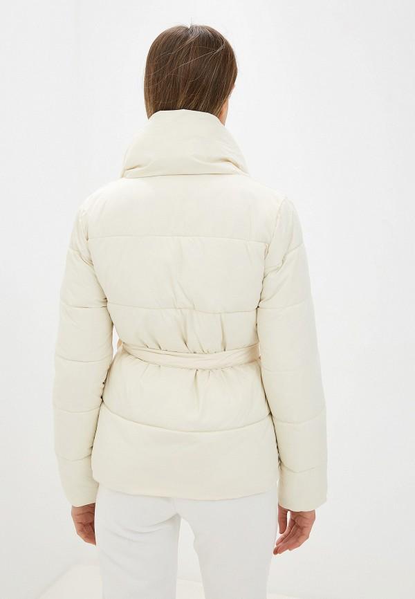 Фото 3 - Куртку утепленная Fresh Cotton белого цвета