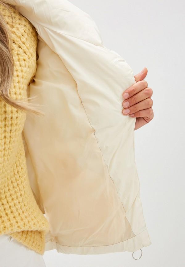 Фото 4 - Куртку утепленная Fresh Cotton белого цвета