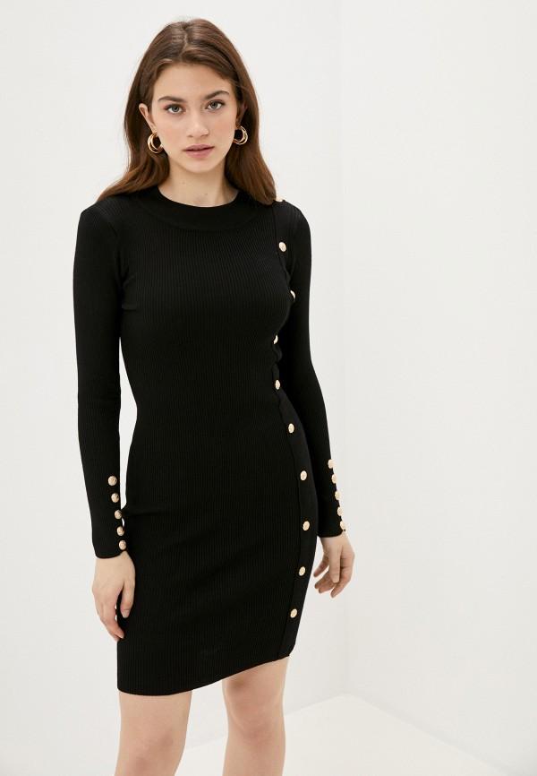 женское повседневные платье fresh cotton, черное