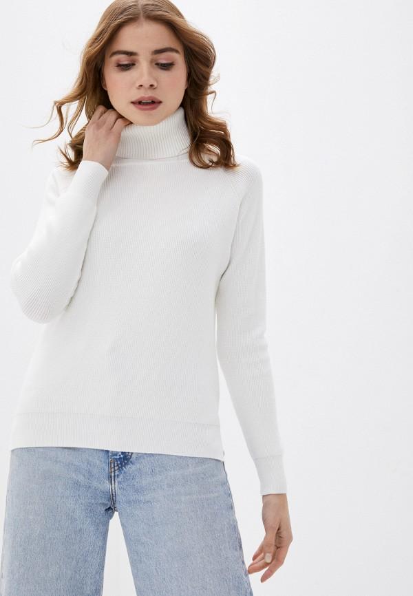 женская водолазка fresh cotton, белая