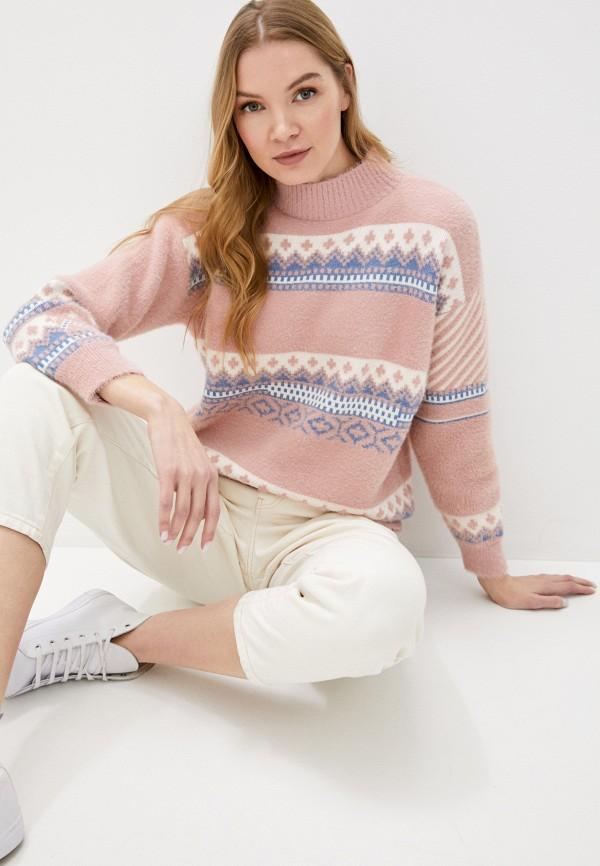 женский свитер fresh cotton, розовый