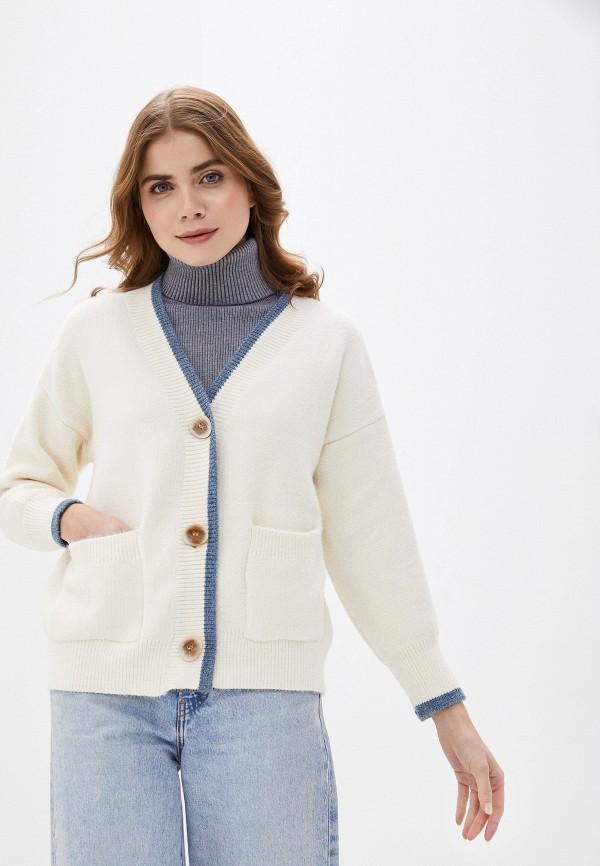 женский кардиган fresh cotton, белый