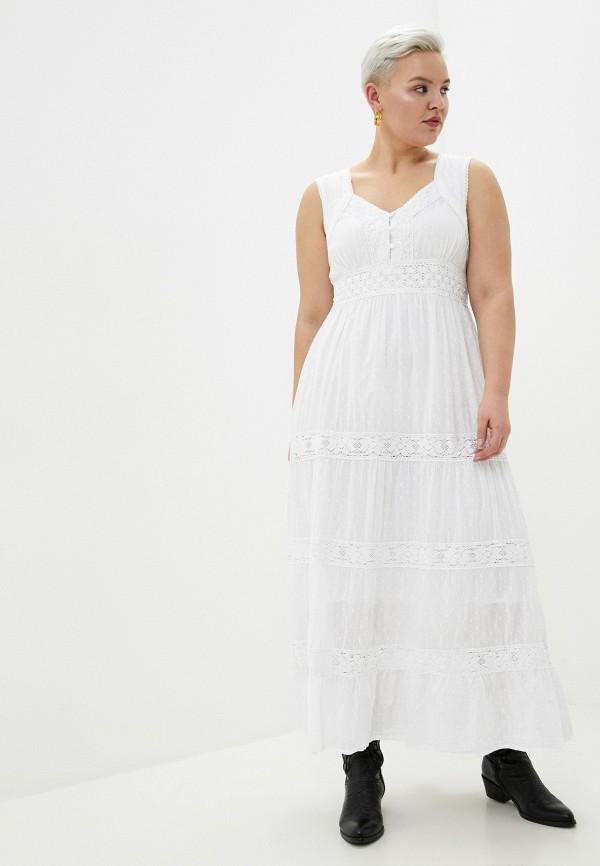 женский сарафан fresh cotton, белый