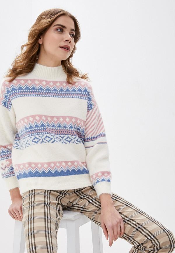 женский свитер fresh cotton, белый