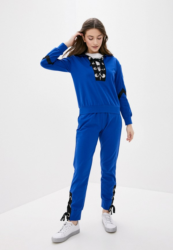 женский спортивный костюм fresh cotton, синий