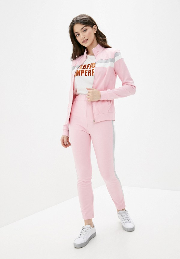 женский спортивный костюм fresh cotton, розовый