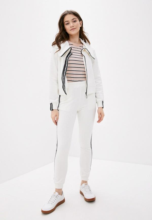 женский спортивный костюм fresh cotton, белый