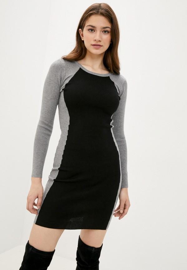 женское повседневные платье fresh cotton, серое