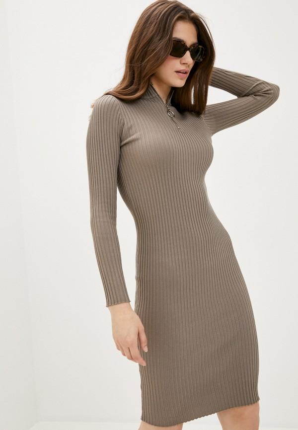 женское платье fresh cotton, бежевое