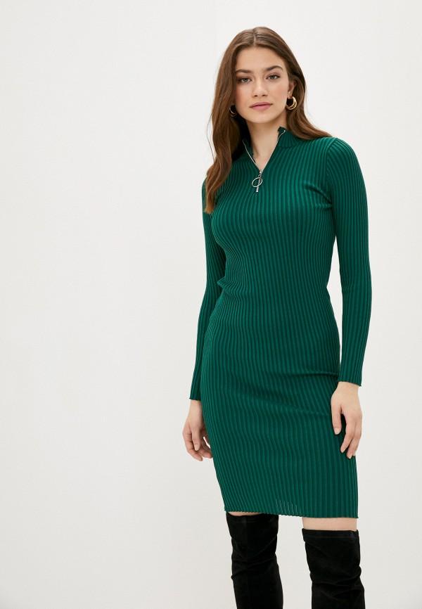 женское платье fresh cotton, зеленое