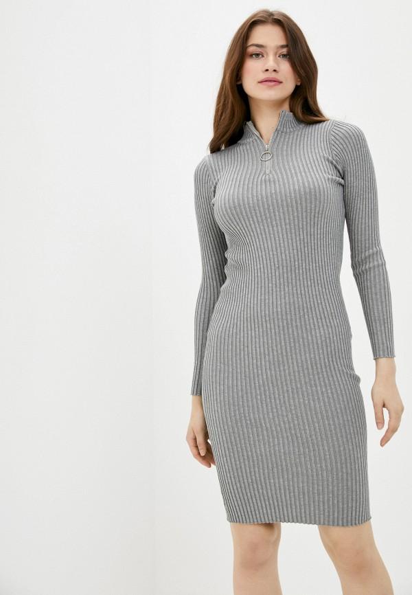 женское платье fresh cotton, серое