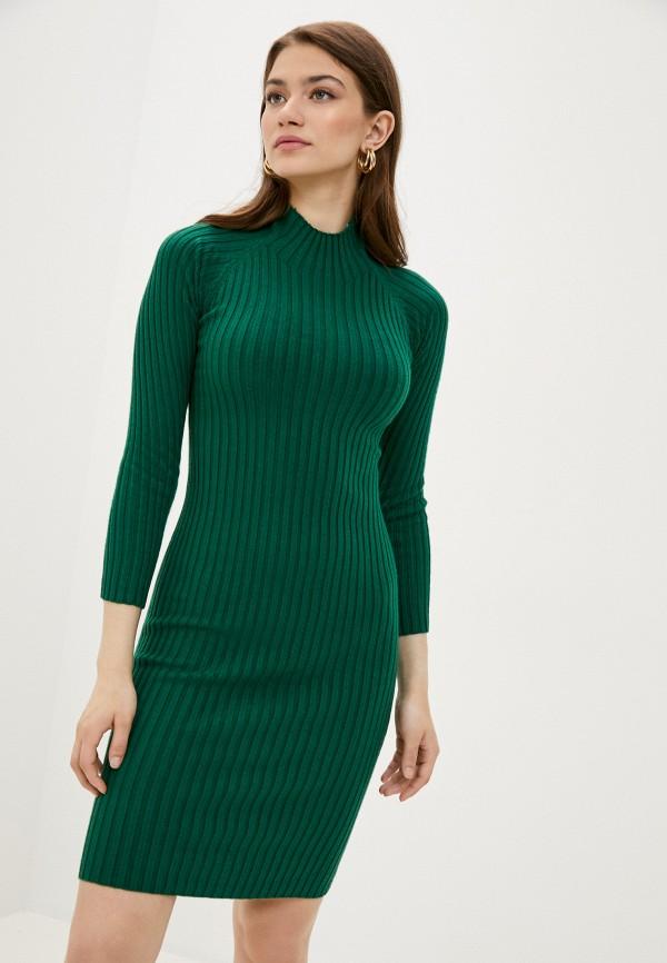 женское повседневные платье fresh cotton, зеленое