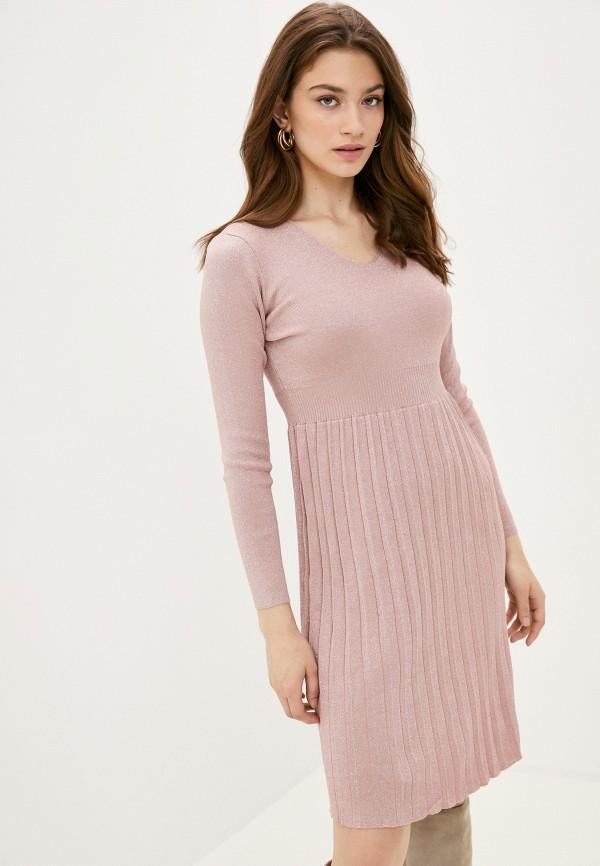 женское платье fresh cotton, розовое