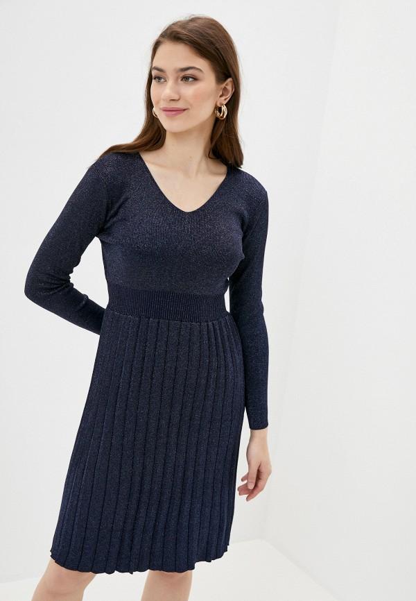 женское платье fresh cotton, синее