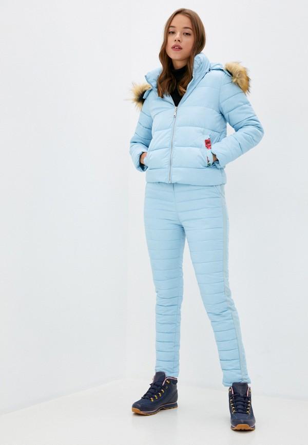 женские комбинезоны и костюмы fresh cotton, голубые