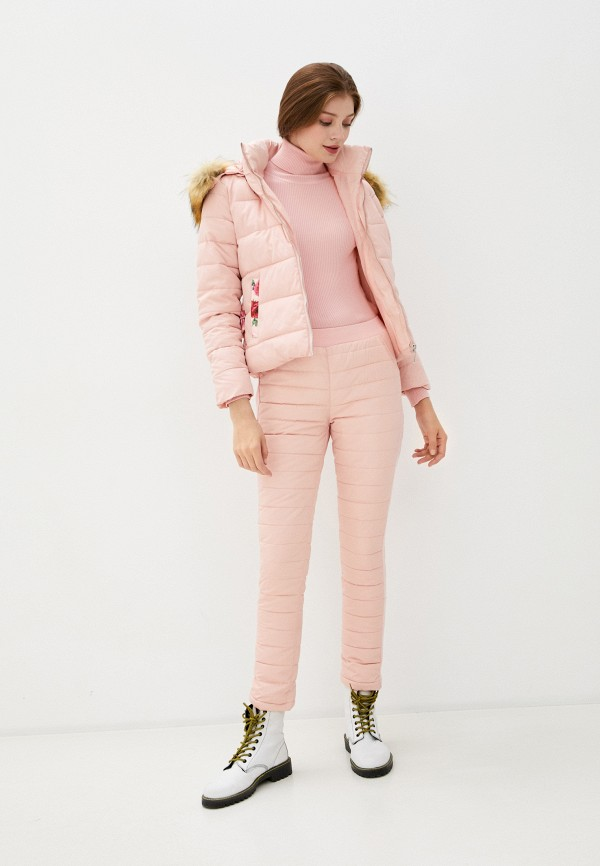 женские комбинезоны и костюмы fresh cotton, розовые