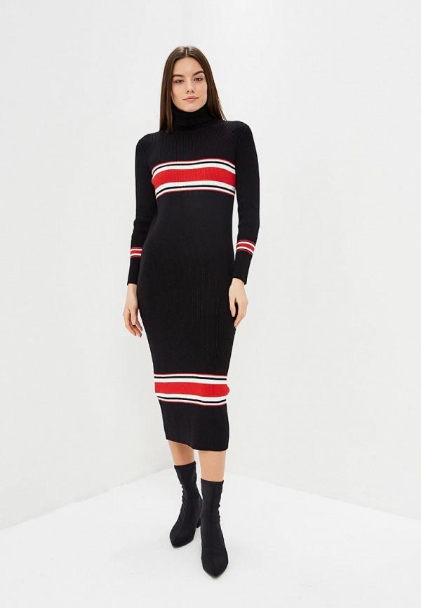 женское платье free people, черное