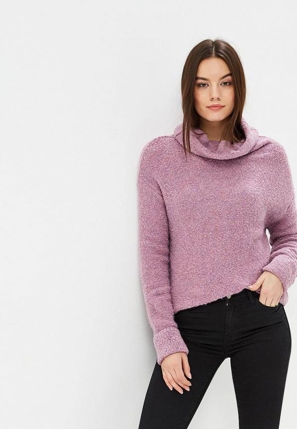 женский свитер free people, фиолетовый