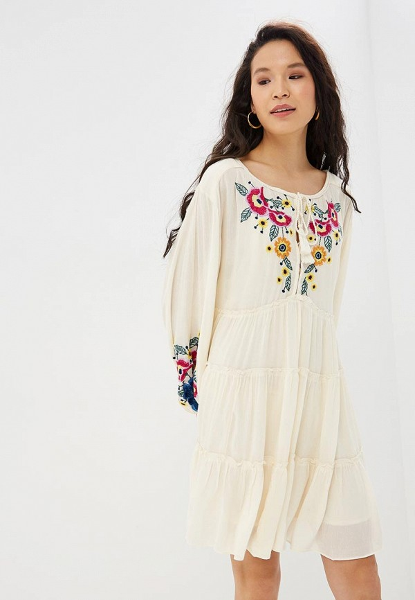 Фото - Платье Free People Free People FR045EWEGRU6 free people вьетнамки