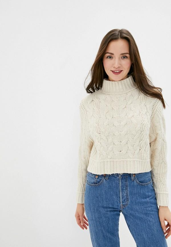 женский свитер free people, бежевый