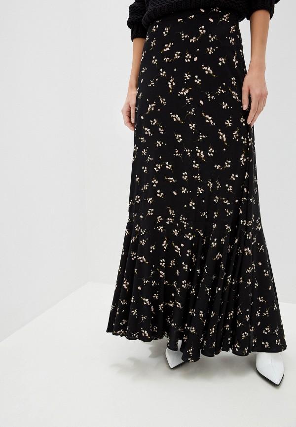 женская юбка free people, черная
