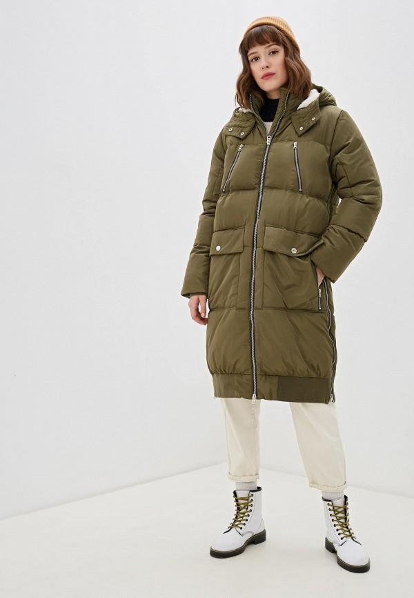 женская куртка free people, хаки