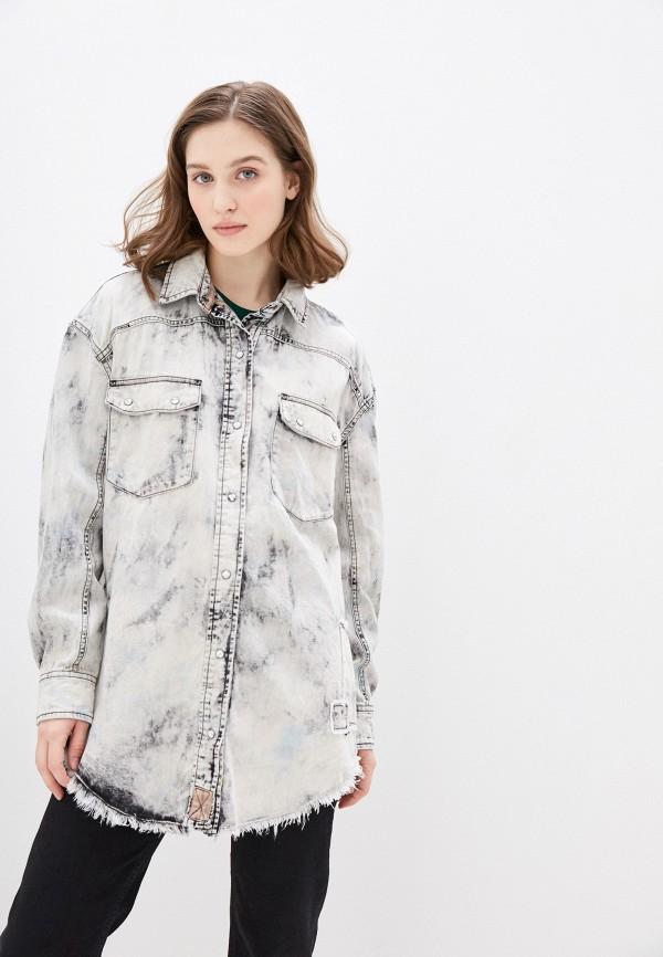 женская джинсовые куртка free people, белая