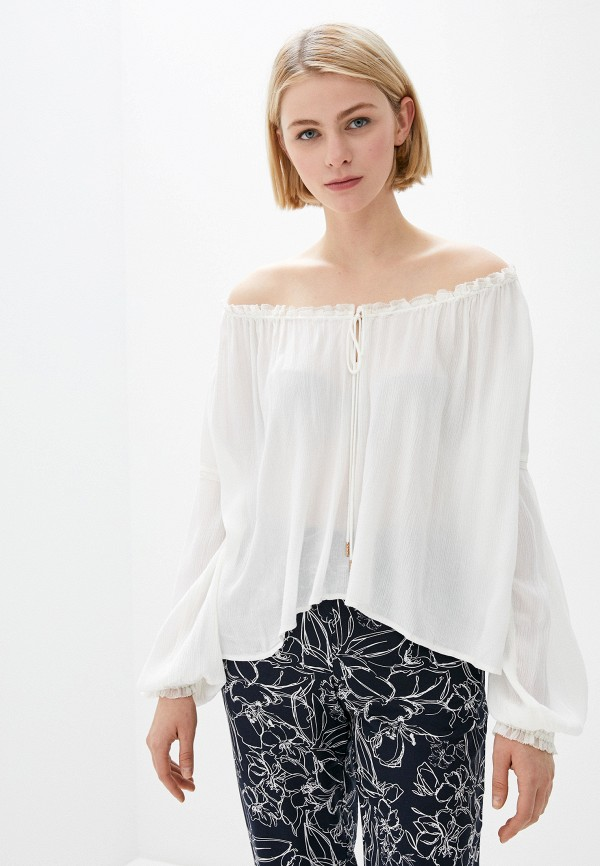 женская блузка free people, белая