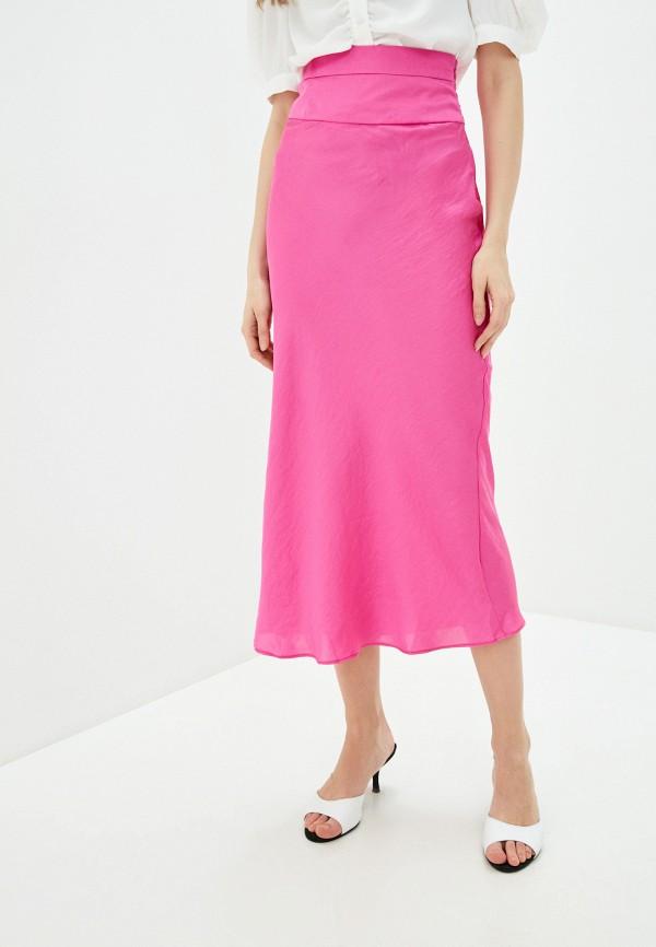 женская юбка free people, розовая