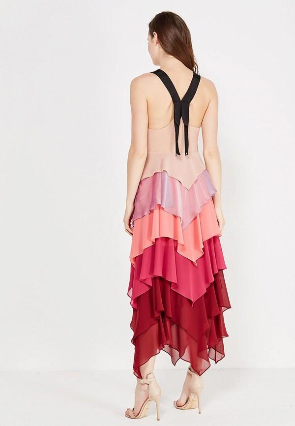 Фото 6 - женское платье Free People разноцветного цвета