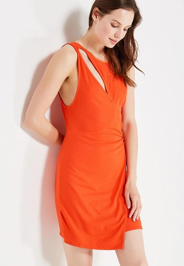 женское вечерние платье free people, красное