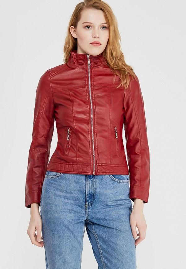 Купить Куртка кожаная Fronthi, FR050EWAPCT5, красный, Весна-лето 2018
