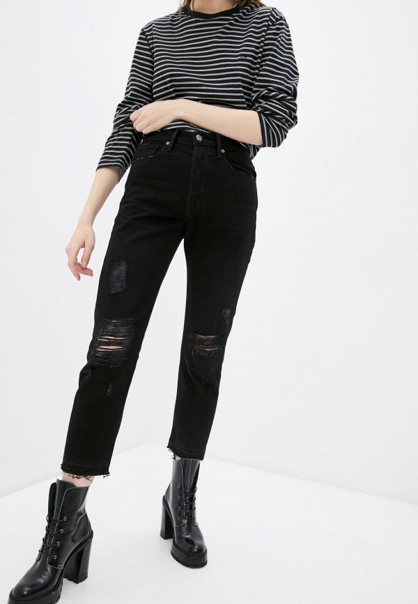 женские джинсы бойфренд frame, черные