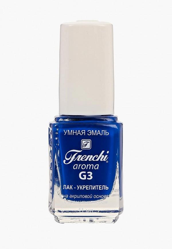 женский лак для ногтей frenchi, синий