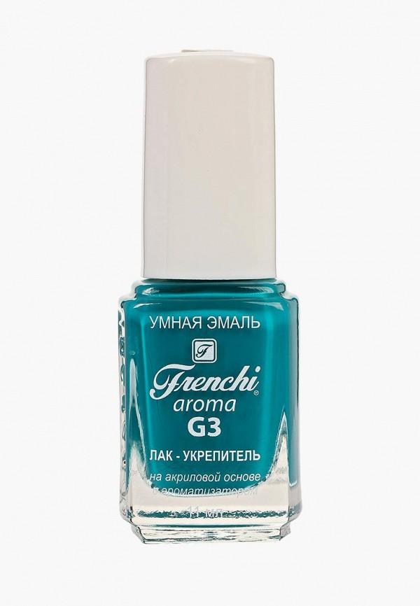 женский лак для ногтей frenchi, бирюзовый