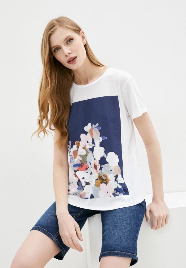 женская футболка fresh made, белая